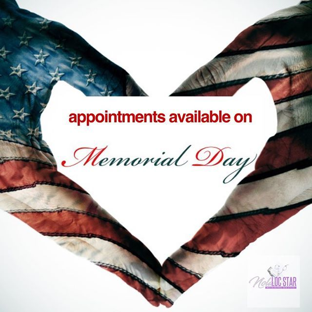 Since We Are Not Bbqing This Memorial Day I Thought I Would Open Up My Schedule Yes I Am Open From 9am 5 Loc Styles For Men Loc Styles Natural Hair Stylists