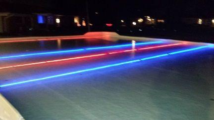 RED LINE-Under the liner LED NiceLights | Led rope lights ...