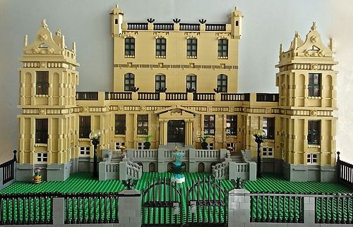 LEGO WIP Bruce Wayne's Manor 016 by Jotabeeeeeee, via Flickr