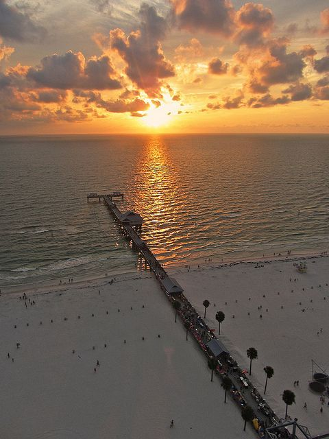Pier 60 at Clearwater Beach, Florida-can't wait to sink my toes in the sand! May can't coming any faster