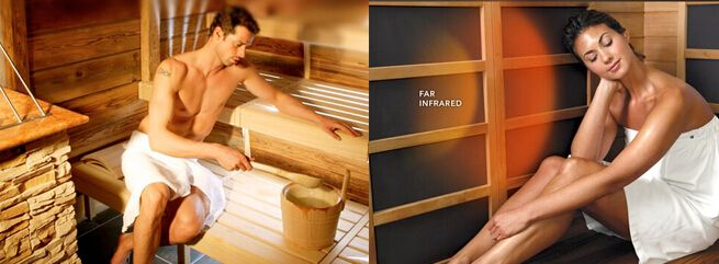 Difference Between the Near-Mid-, and Far-Infrared, and Traditional Saunas