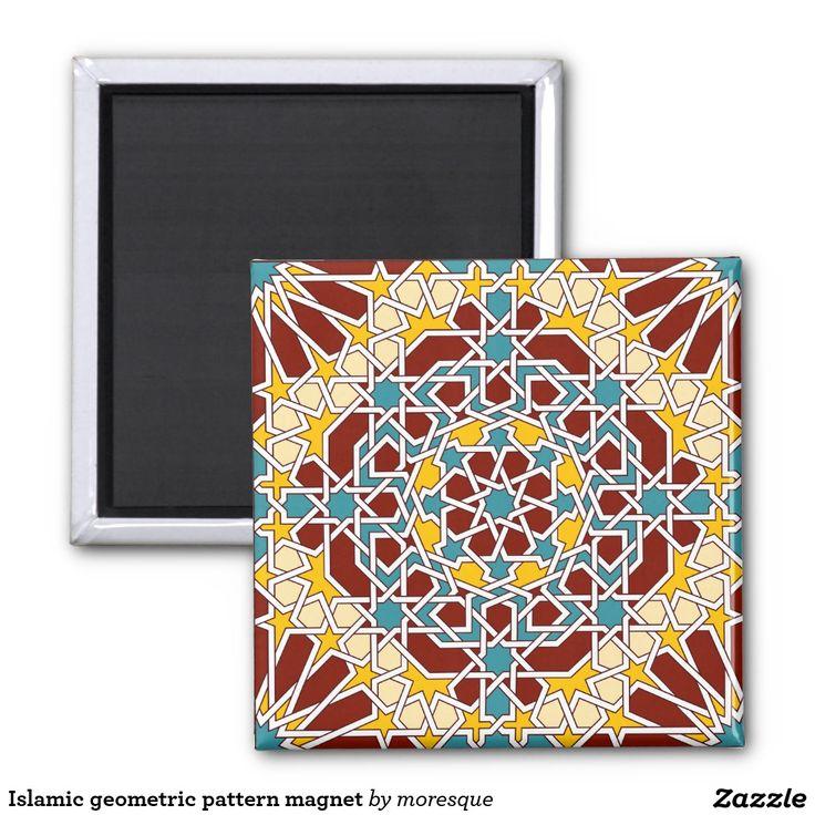 Islamic geometric pattern magnet