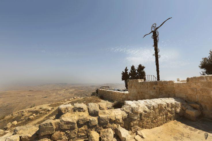 Mount Nebo mosses bibilical site Jordan