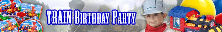 Train Party Ideas   Boys Party Ideas at Birthday in a Box pin the smoke stacks