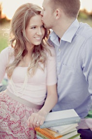 McKinney Engagement Session from Ivy Weddings | Style Me Pretty