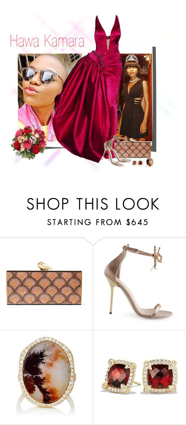 """""""Miss Serra Leoa 2016"""" by isa-belly ❤ liked on Polyvore featuring KOTUR, Dsquared2, Monique Péan and David Yurman"""
