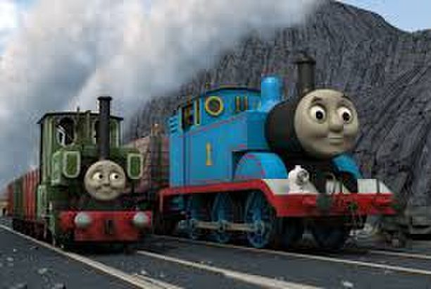Thomas and Friends Blue Mountain Mystery The Movie Storybook