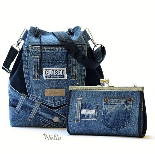 Nielia - сумки из джинсов (часть4) / Переделка джинсов / ВТОРАЯ УЛИЦА