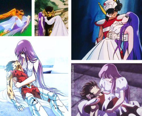 Pegaso y Athena || Seiya y Saori