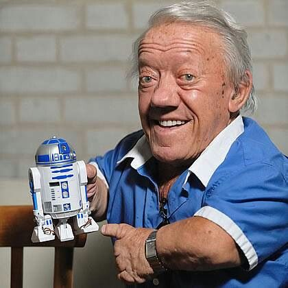 *KENNY BAKER ~ will return as R2-D2....STAR WARS: Episode VII - The Force Awakens, 2015