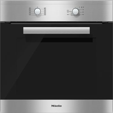 H 2460 B - Ovens with PerfectClean and an XL compartment at an attractive entry level price.--Stainless steel/CleanSteel