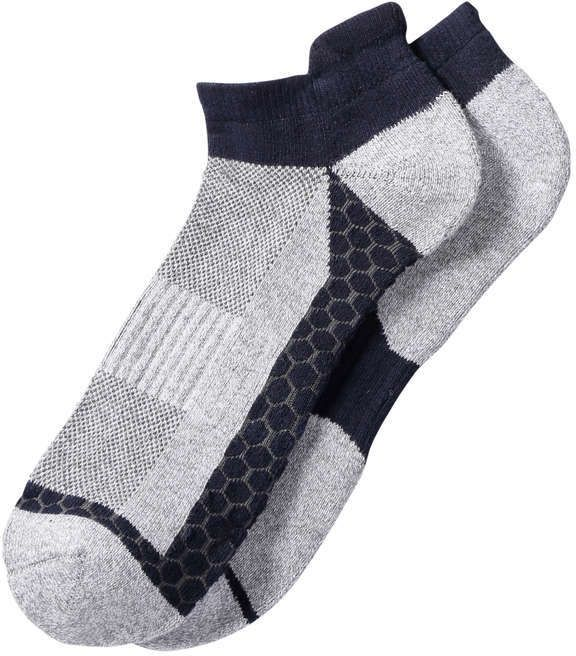 Joe Fresh Men's 2 Pack Cushioned Sport Socks