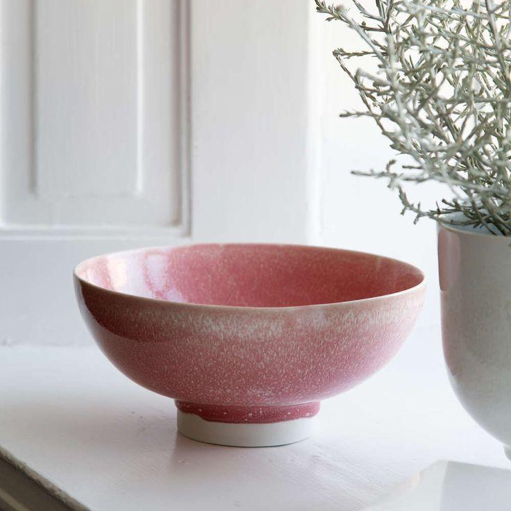 kähler unico skål rosa