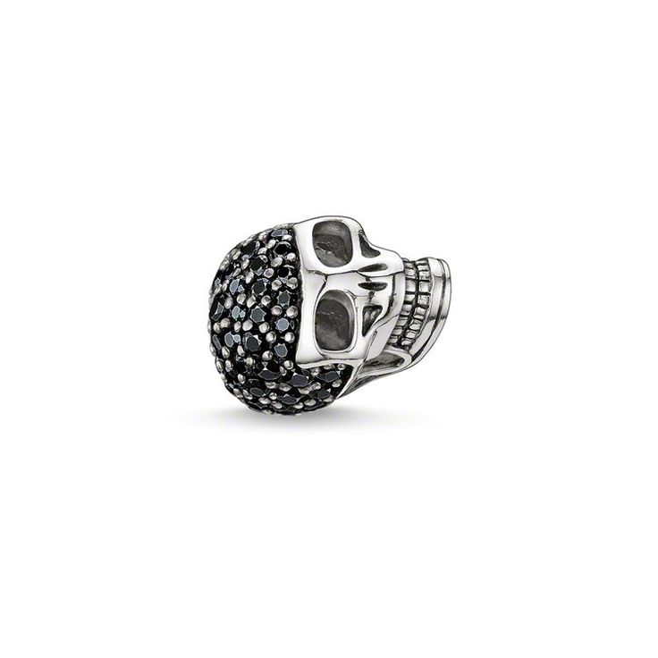 bead large pavé skull – K0068 – Men – THOMAS SABO