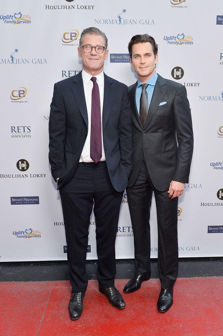 Simon Halls & Matt Bomer