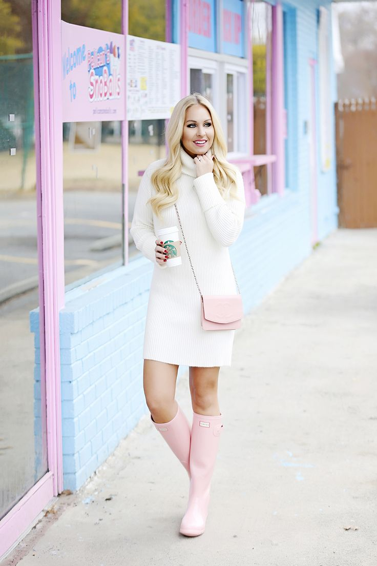How to wear pink Hunter Boots || Cort In Session Blog