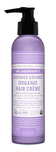 Dr. Bronner - Lavender & Coconut Hair Conditioner & Styling Creme ✨ Jane Spring