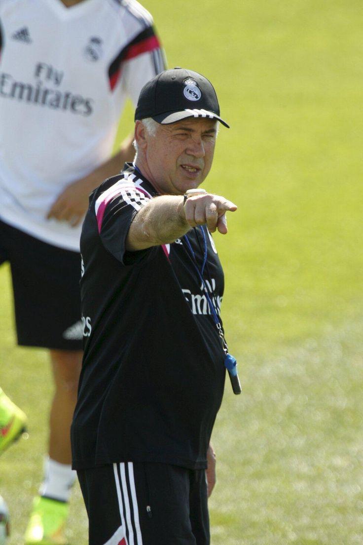 Entrenamiento del Real Madrid   Carlo Ancelotti.