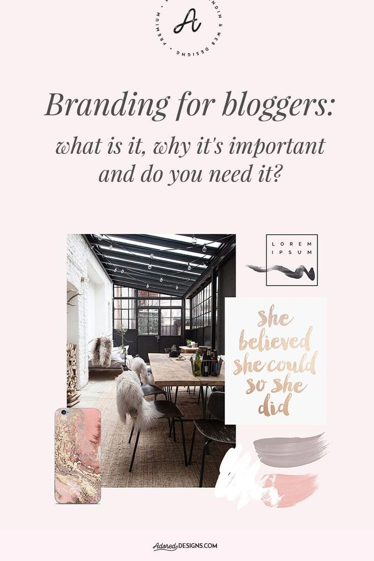 Branding for bloggers: what is it, why it's important and do you need it?
