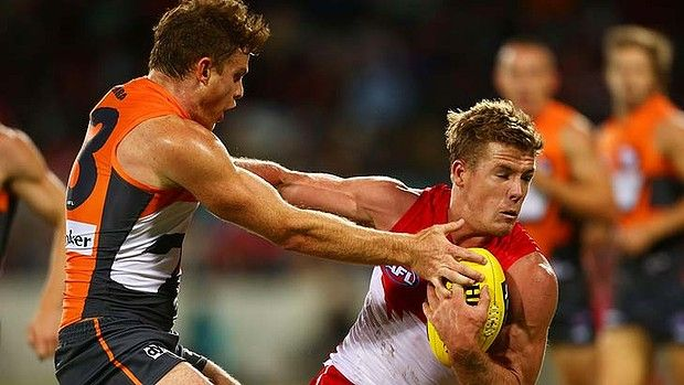 """Franklin made his debut in the red and white will play against the West Coast Eagles on Thursday evening NAB challenge at Blacktown. """"It's not about the handballs or kick"""