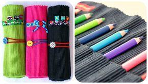 Nadelzauber: Stifterollen nähen - Ausführliche Anleitung für Kinder