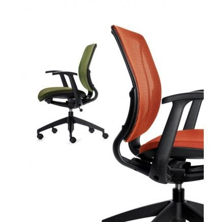 Global Roma 1900 - Environmentally friendly task office mesh chair.  Available for online purchase at Ugoburo.ca