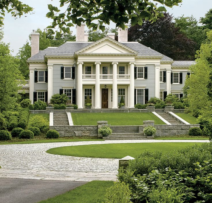 Outfit A Southern Plantation Style Home: 25+ Best Ideas About Southern Mansions On Pinterest