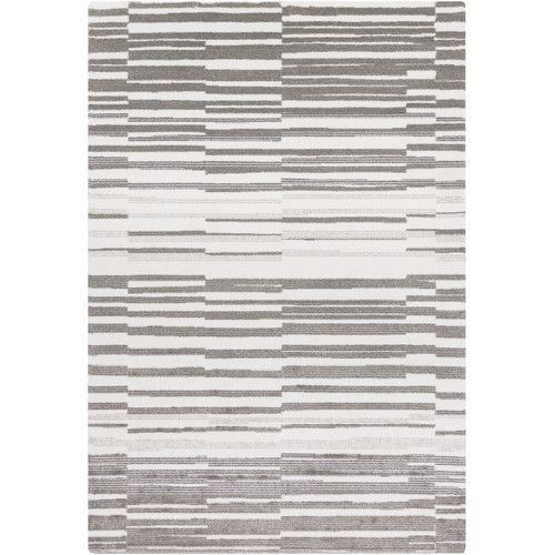 Found it at AllModern - Perla Ivory/Grey Area Rug