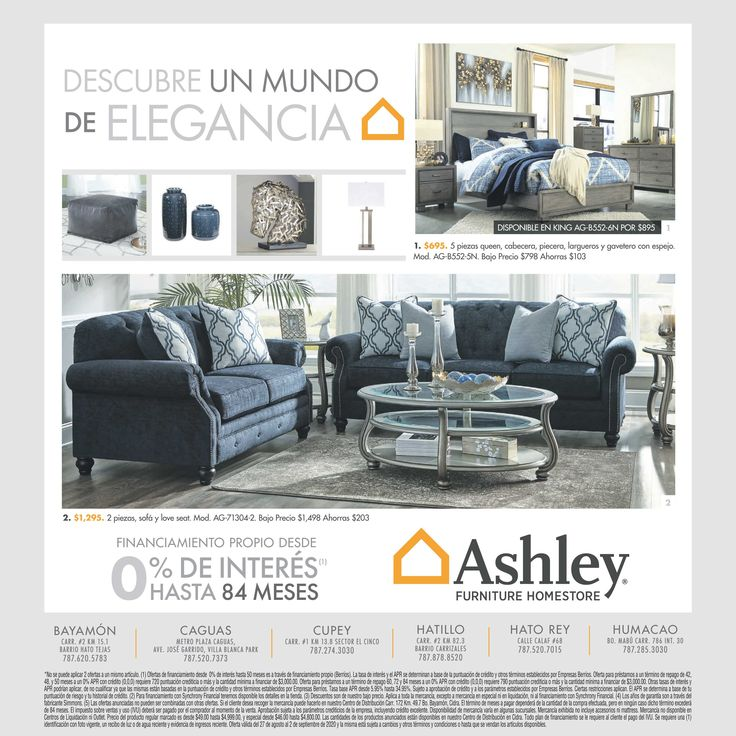 Un Toque De Azul Para La Decoracion De Tu Hogar N N Ashleyprn Mihogarashleyn Descubreamueb Furniture Homestore Ashley Furniture Homestore Ashley Furniture