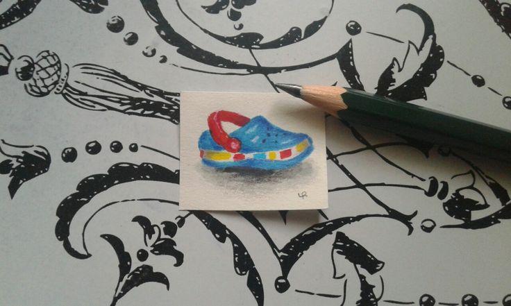 Miniature draw Shoe