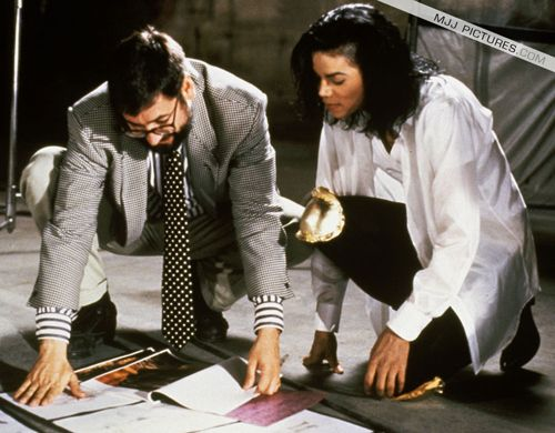 Michael Jackson and John Landis | Behind the scenes of Black or White