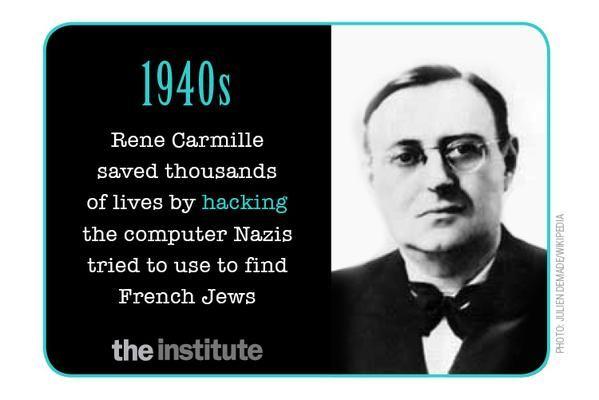 René Carmille, el primer hacker salvó miles de vidas en la segunda guerra mundial @alvarodabril