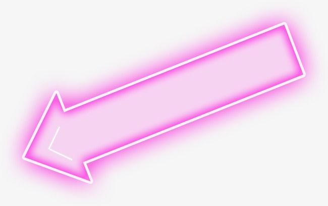 Arrow Glossy Right Purple Blanks Arrows Arrows Glossy Purple Glossy Arrow