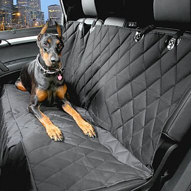 Dog+Car+Seat+Cover+Pet+Carrier+Waterproof+/+Portable+Black+Cotton+–+USD+$+36.99