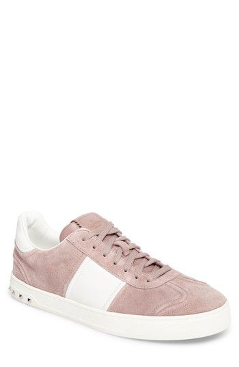 d0179b0efa44b Free shipping and returns on VALENTINO GARAVANI Fly Crew Sneaker (Men) at  Nordstrom.com. Supple lambskin suede elevates the look of a sporty Italian  sneaker ...