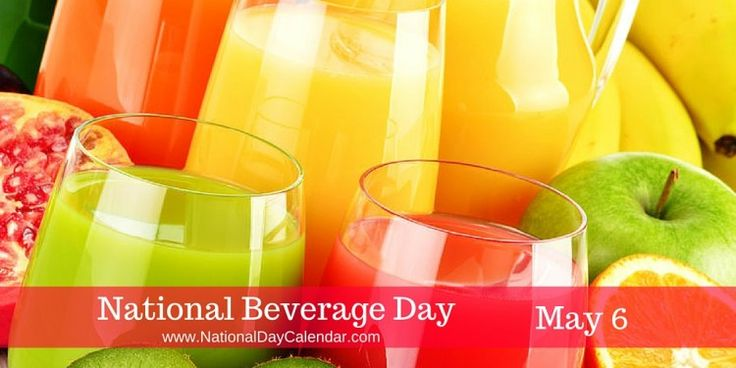 NATIONAL BEVERAGE DAY – May 6