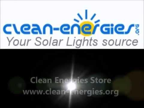 16 LED SOLAR SECURITY LIGHT MAXSA 44640 - Solar Motion Light