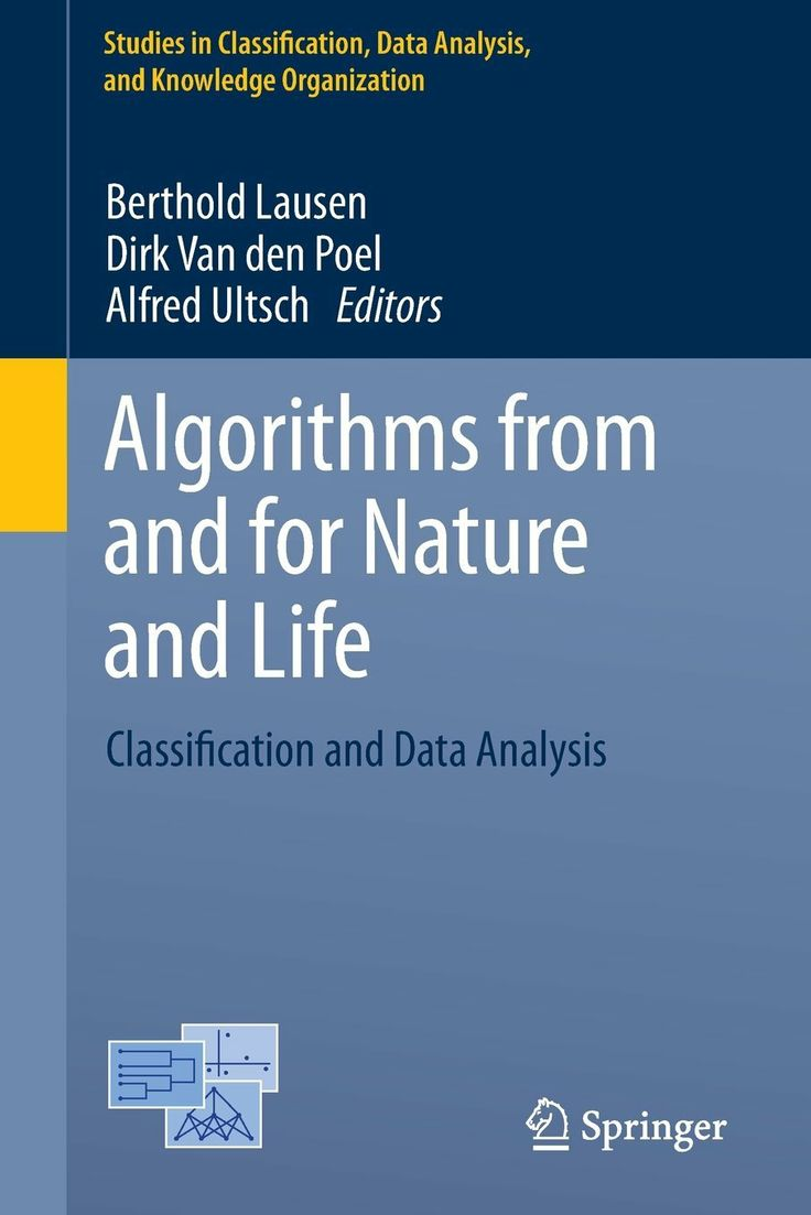 I'm selling Algorithms from and for Nature and Life: Classification and Data Analysis - $40.00 #onselz