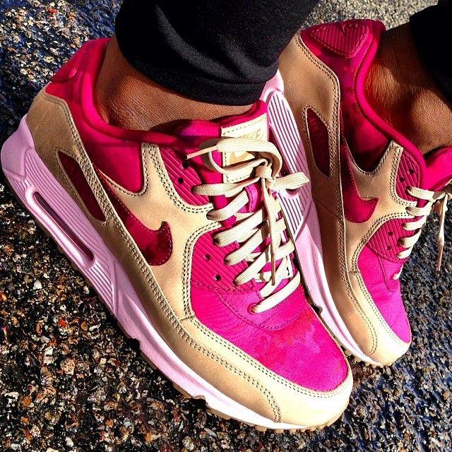 Nike Air Max 90 Costume Léopard Rose