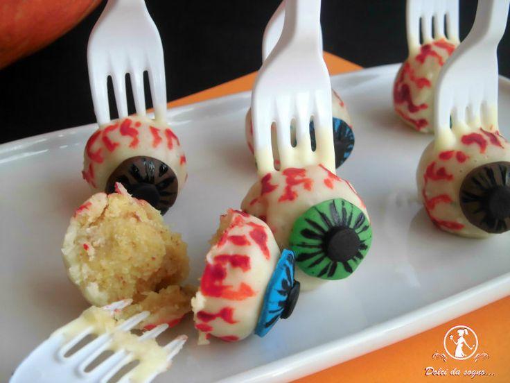 Cake pops per Halloween (occhio!) | Miei dolci da sogno