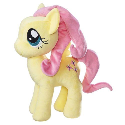 "My Little Pony Friendship is Magic Cuddly Stuffed Doll - Fluttershy - Hasbro - Toys ""R"" Us"