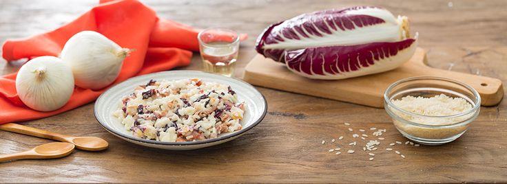 Una ricetta che racchiude profumi e sapori dell'autunno, con ingredienti saporiti come speck e radicchio. Scopri la ricetta, prepara un ottimo primo piatto!