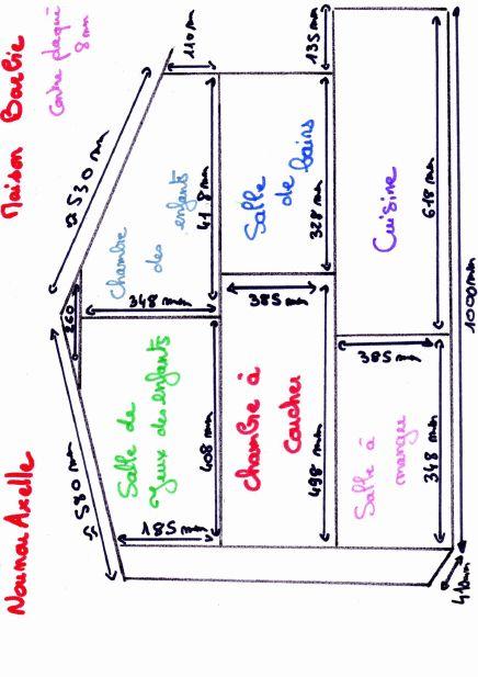 Les 25 meilleures id es de la cat gorie plans de maison de poup e sur pintere - Fabriquer maison barbie ...
