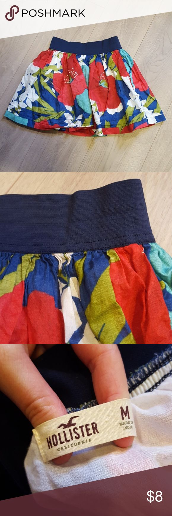Hollister skirt Never worn skirt. Without tags. Like new condition. Hollister Skirts Mini