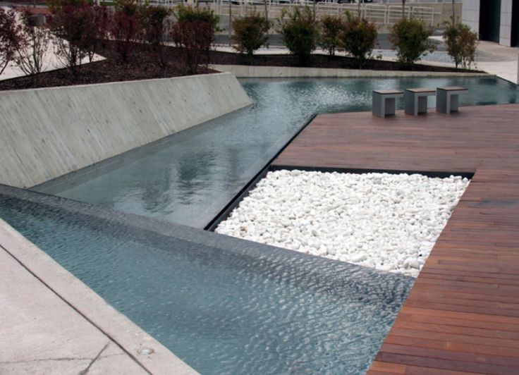 #landarch #urbandesign #waterfeature