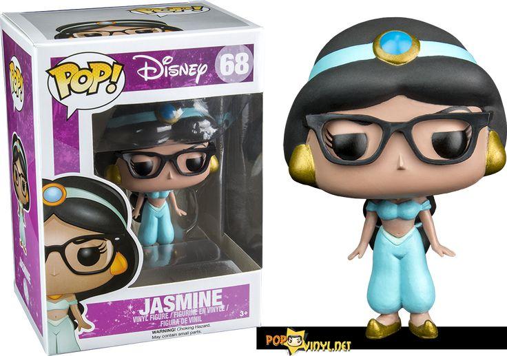 Hot Topic, In Store Exclusive:  hipster-jasmine-pop vinyl figure