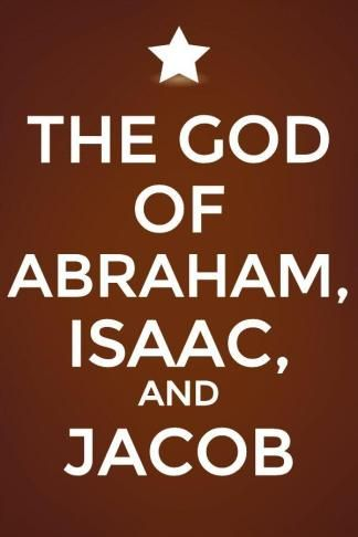 We need to know and experience the God of Abraham, Isaac, and Jacob. More via, www.agodman.com