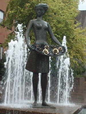 Molde, Norway  City of Roses.  Sister city of Portland Oregon.