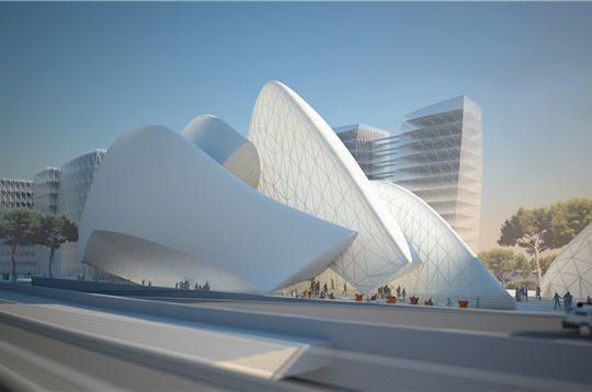 Marseille : projet Euroméditerranée - Euromed Center