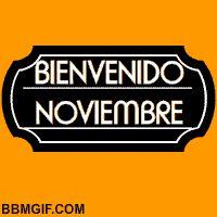 Bienvenido Noviembre                                                                                                                                                                                 Más